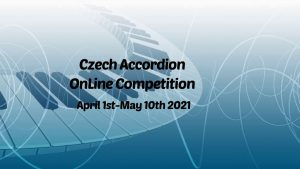 Czech accordion online competition 2021